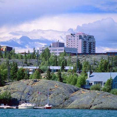 Yellowknife, Hauptstadtflair der Wildnis