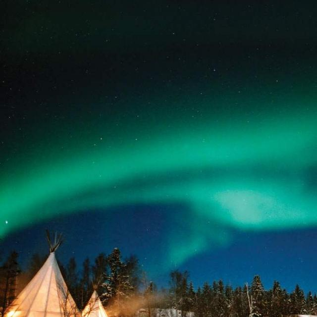 14 Tage Northern Lights NWT & Skireise Alberta